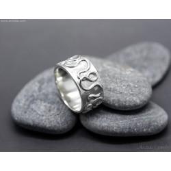Celtic ring Argentium...
