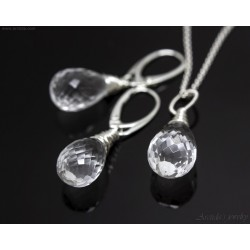 Bergkristall smyckeset...
