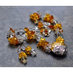Ice and Fire - Amber Rock...