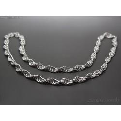 Spiral silverhalsband...