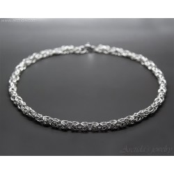 Mens necklace Silver...