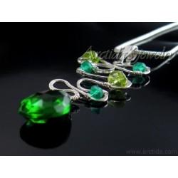Grön Agat och grön Kvarts...