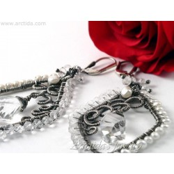 Bridal earrings Rock...