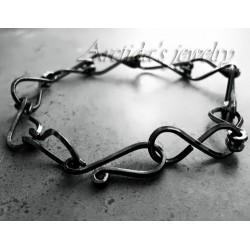 Mens jewelry oxidized...