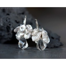 Bridal earrings Crystal...