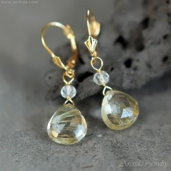 Golden Rutilated Quartz...