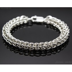 Chainmaille mens bracelet...