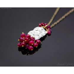 Ruby necklace for women...