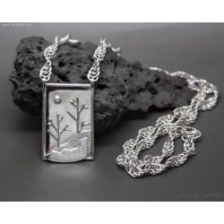 Sterling silver natur...
