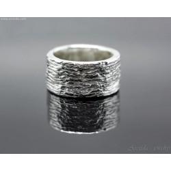 Massiv silverring för män...