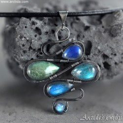 Labradorite necklace...