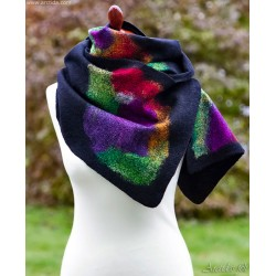 Merino wool scarf for women...