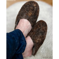 Felt slippers Felted wool...