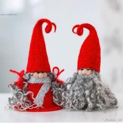 Christmas gnome couple...