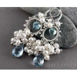 Aquamarine Pearls blue...